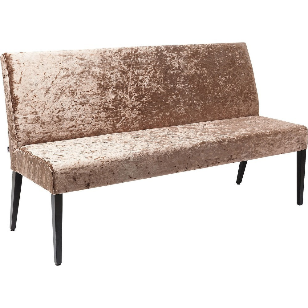 Hnědá lavice Kare Design Econo Diva