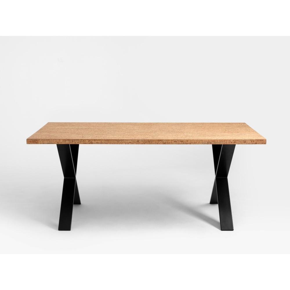 Jídelní stůl s deskou z korku Custom Form Feld,180x90cm