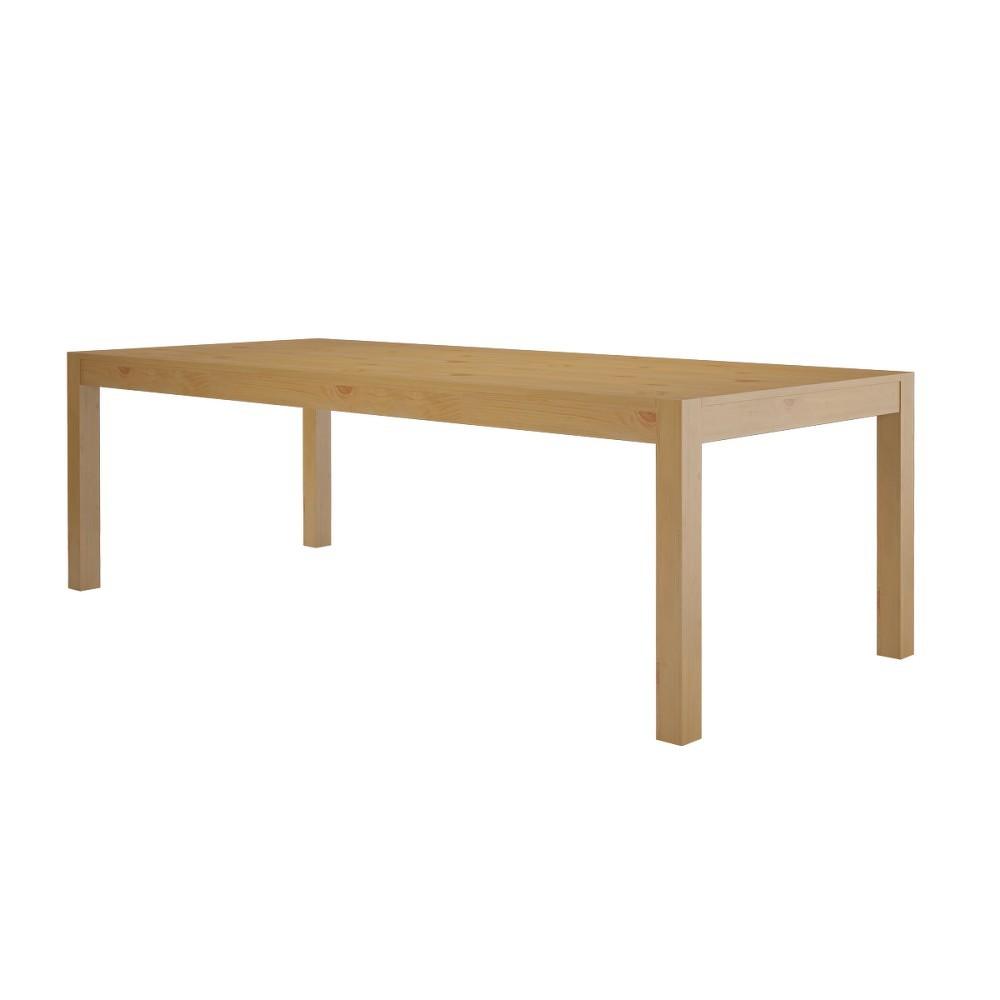 Jídelní stůl z masivního borovicového dřeva Støraa Monique, 75x240cm
