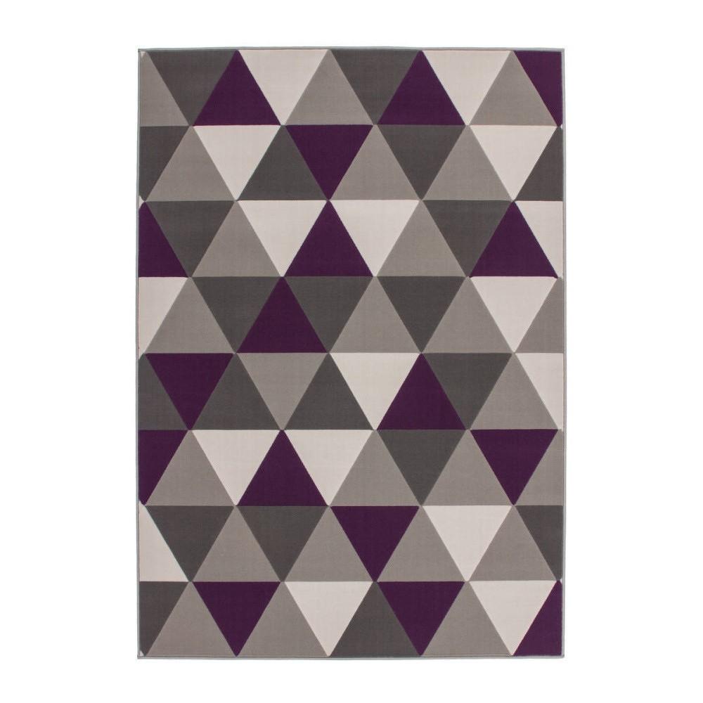 Koberec Kayoom Stella Trian Multi Violett, 120x170cm