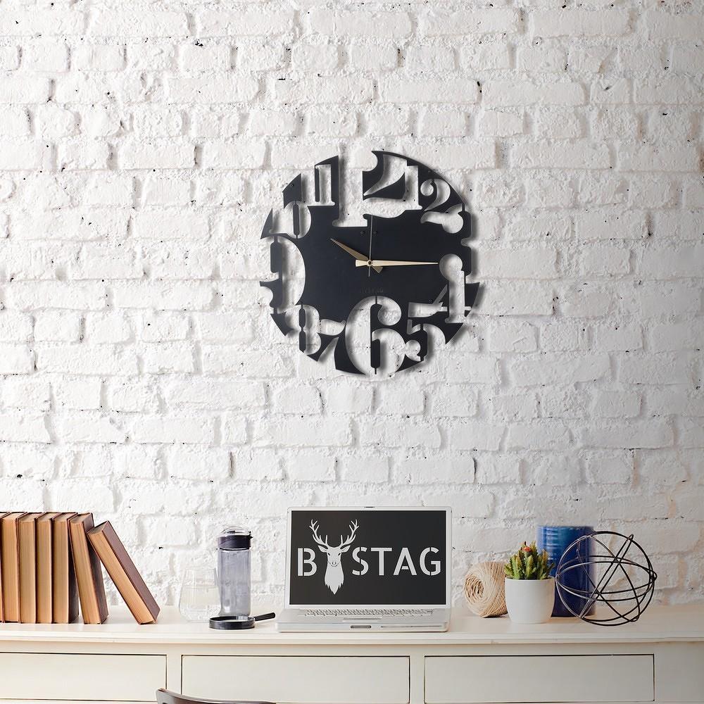 Kovové nástěnné hodiny Modern, ø 50 cm