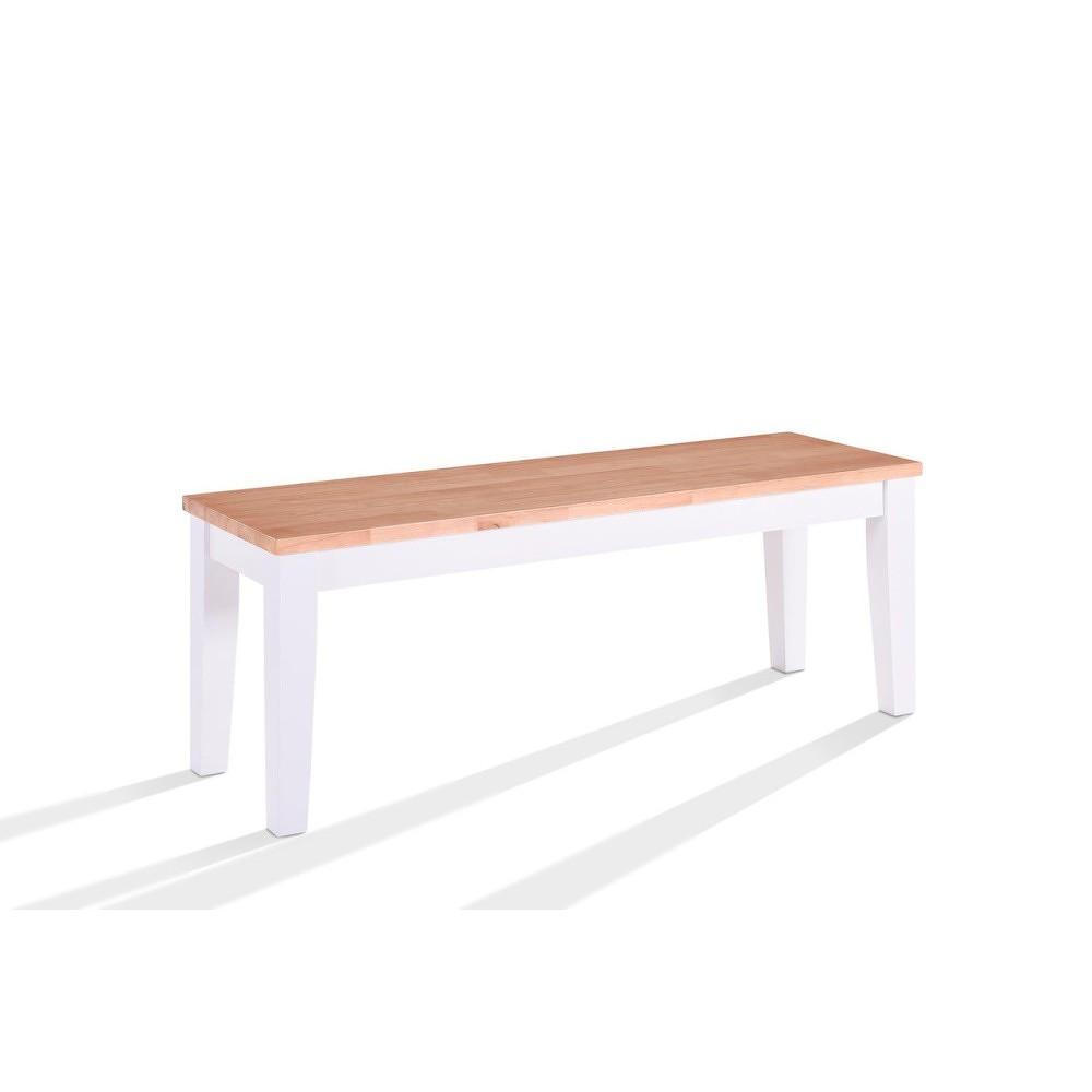 Lavice z dřevěné dýhy VIDA Living Rona, délka 120 cm