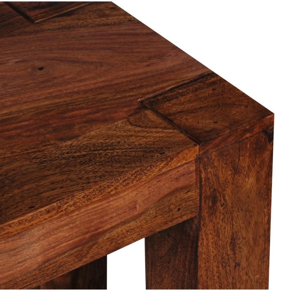 Lavice z masivního palisandrového dřeva Skyport Alison, délka160cm