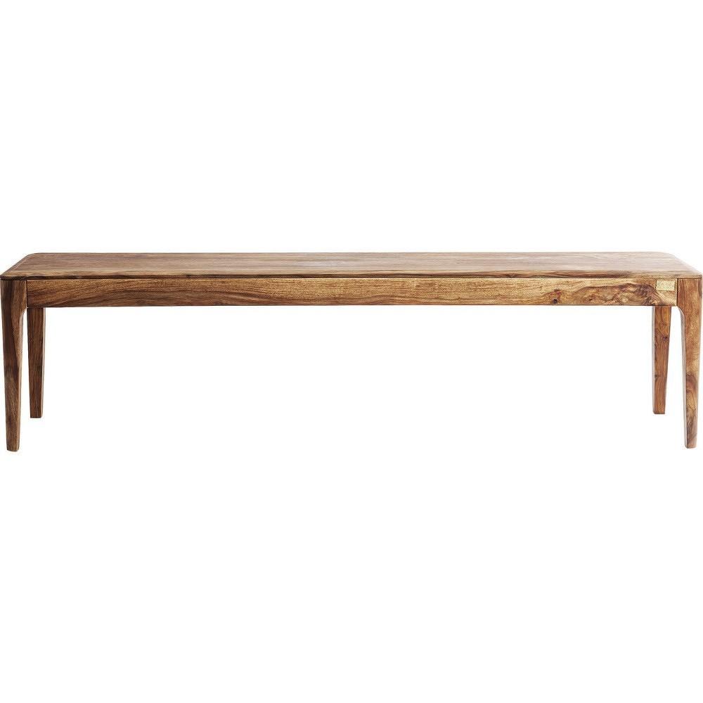 Lavice ze sheesamového dřeva Kare Design Brooklyn, 140cm