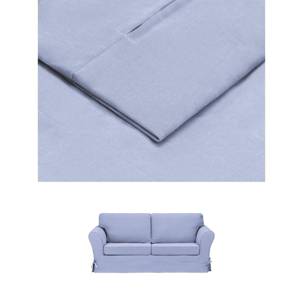 Modrý povlak na trojmístnou pohovku THE CLASSIC LIVING Phillippe
