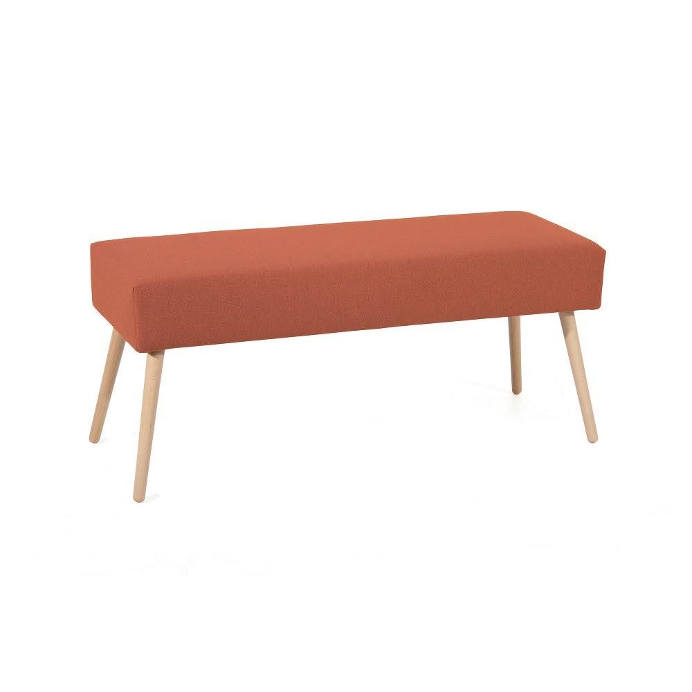 Oranžová lavice Max Winzer Sue