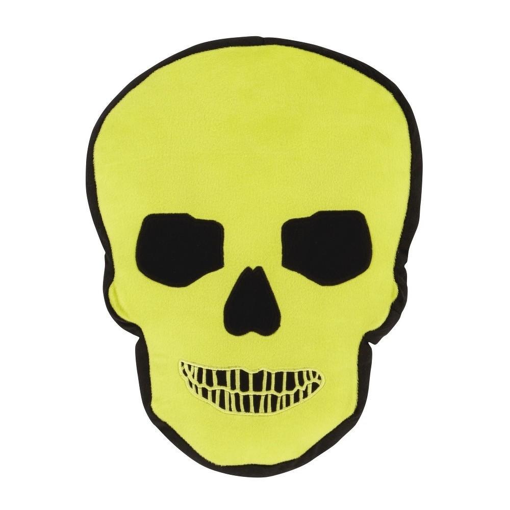 Polštář Catherine Lansfield Skulls, 42x42cm