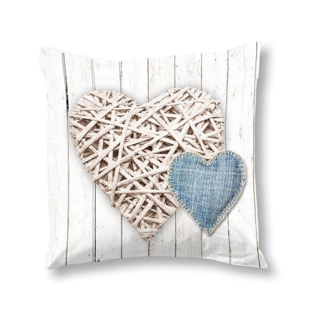 Povlak na polštář Muller Textiels Home Ecru, 50x50cm