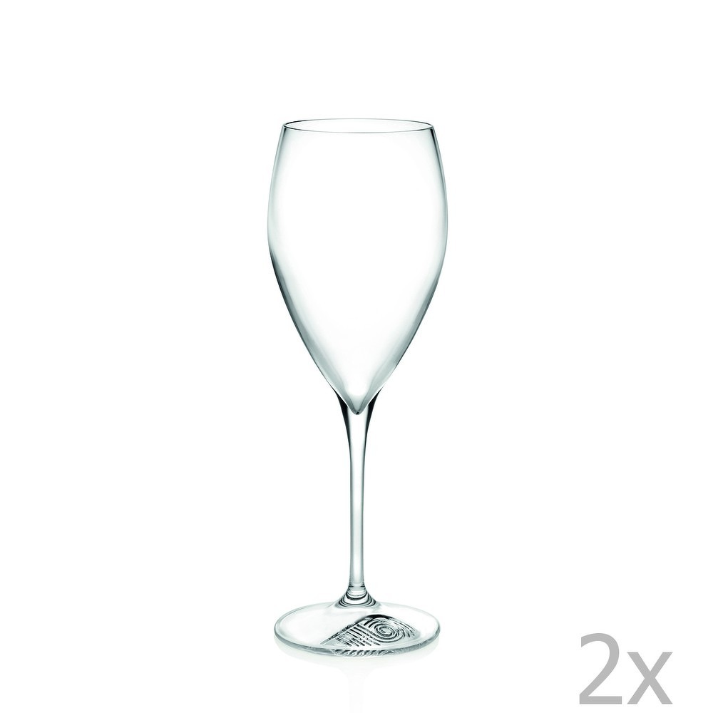 Sada 2 sklenic na víno RCR Cristalleria Italiana Micheline, 330ml