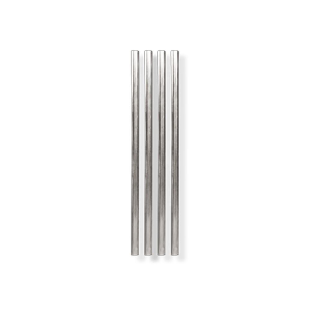 Sada 4 kovových brček ve stříbrné barvě W&P Design, délka12,7cm