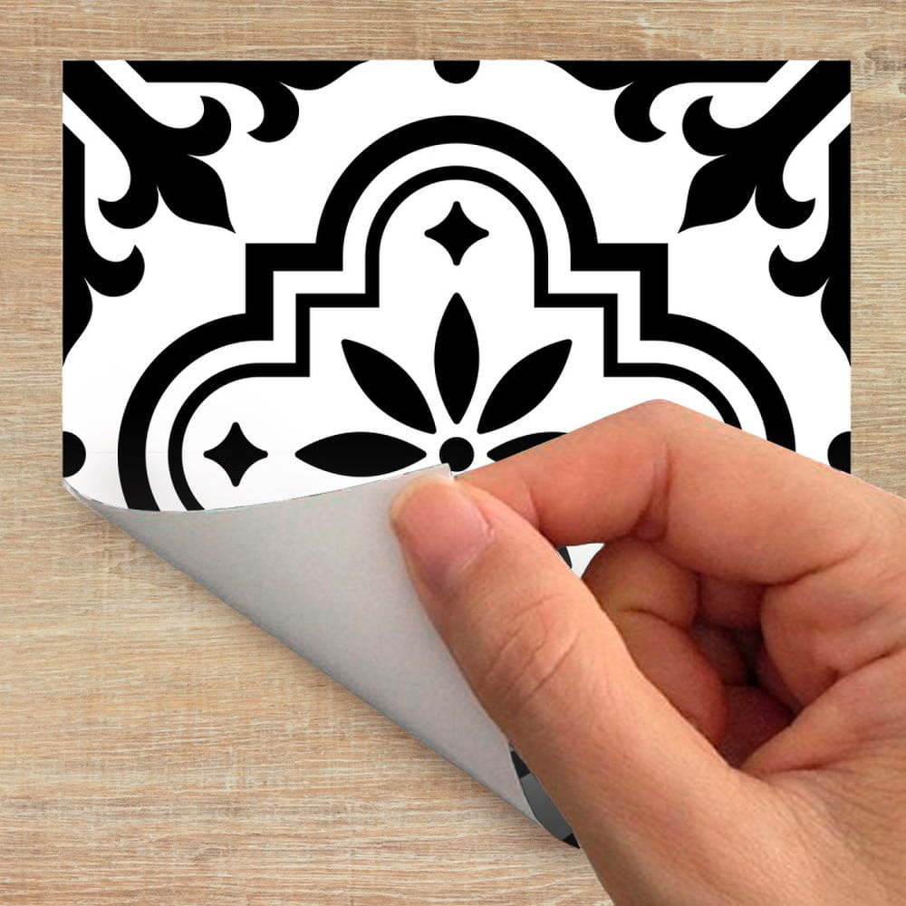 Sada 60 samolepek na nábytek Ambiance Tiles Stickers For Furniture Maria, 20 x 20 cm