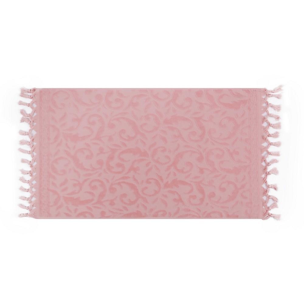 Sada dvou ručníků v pudrové barvě Bohème, 90x50cm