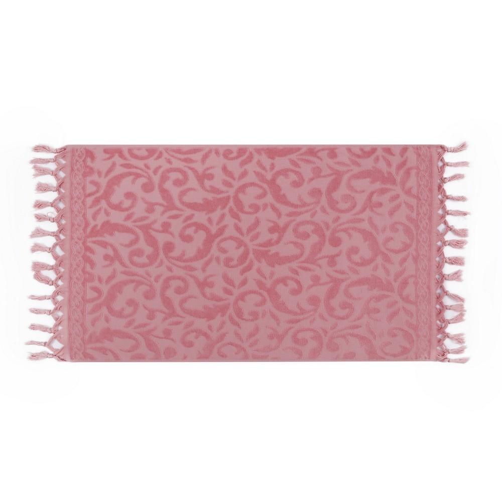 Sada dvou růžových ručníků Bohème, 90x50cm