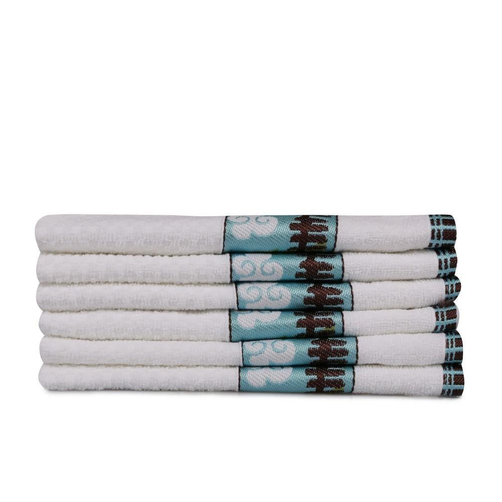 Sada šesti dětských ručníků s motivem srnečka Little Roe Deer
