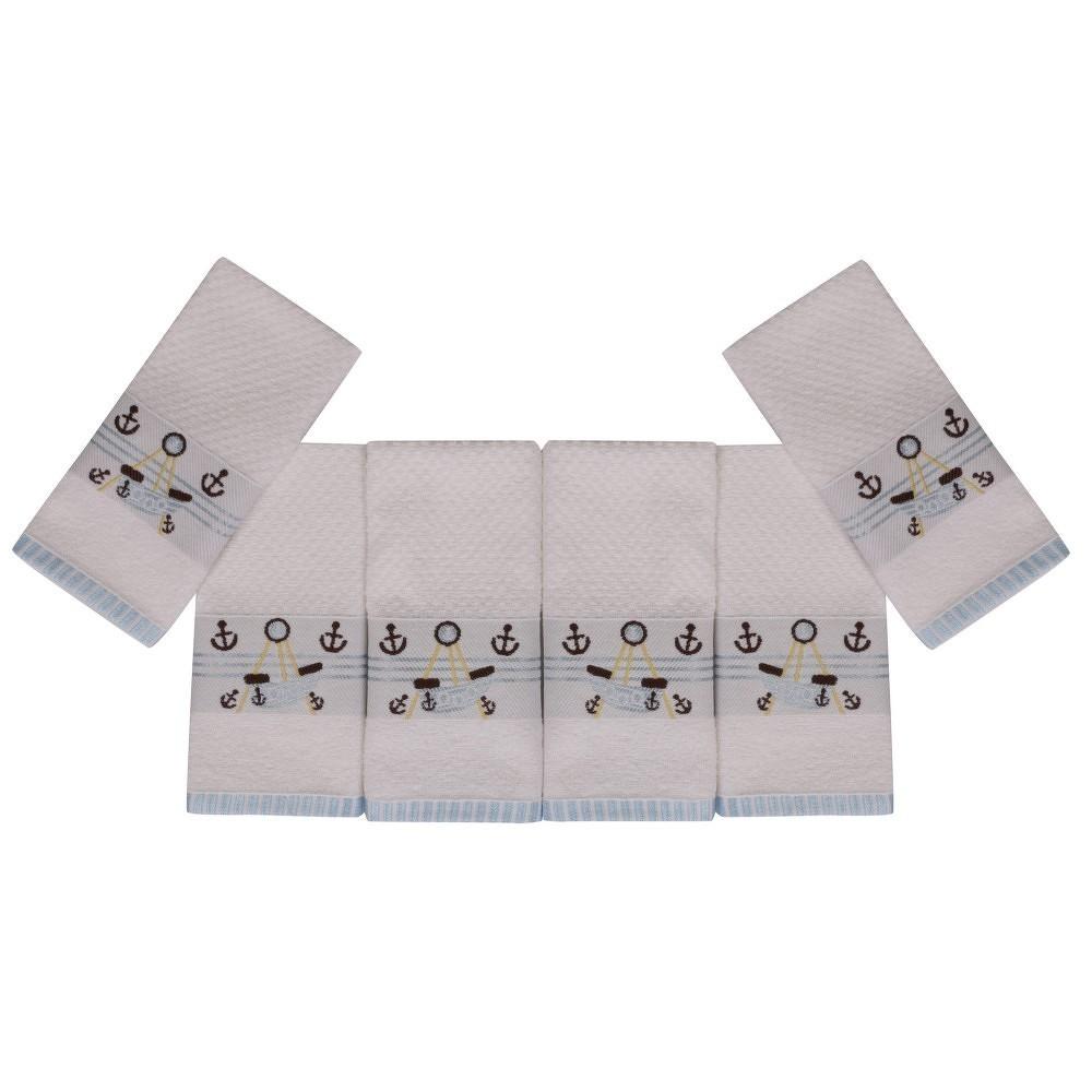 Sada šesti ručníků s námořnickým motivem Anchor
