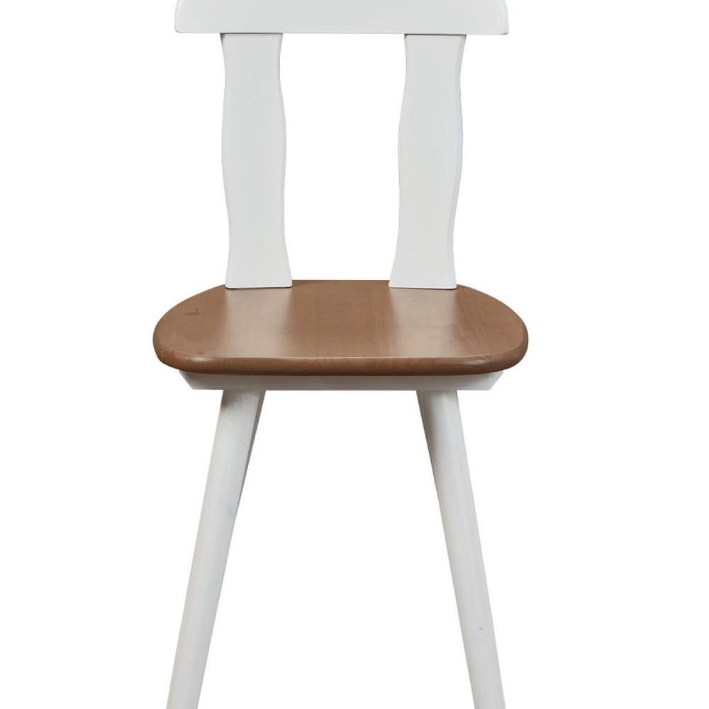 Set rohové lavice, jídelního stolu a 2 židlí z masivního borovicového dřeva Interlink Wasterland
