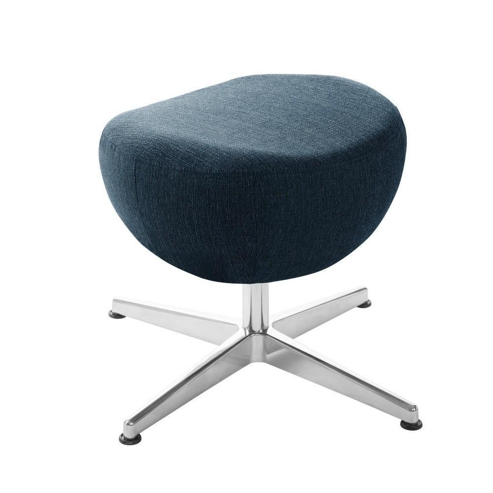 0be825fef153 Tmavě modrá otočná stolička podnožka My Pop Design Indiana ...