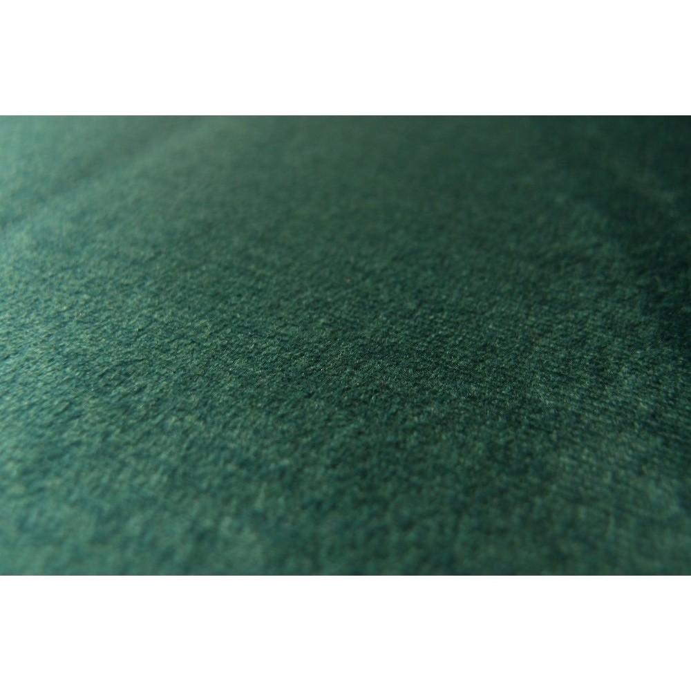 Tmavě zelené křeslo devichy Levie