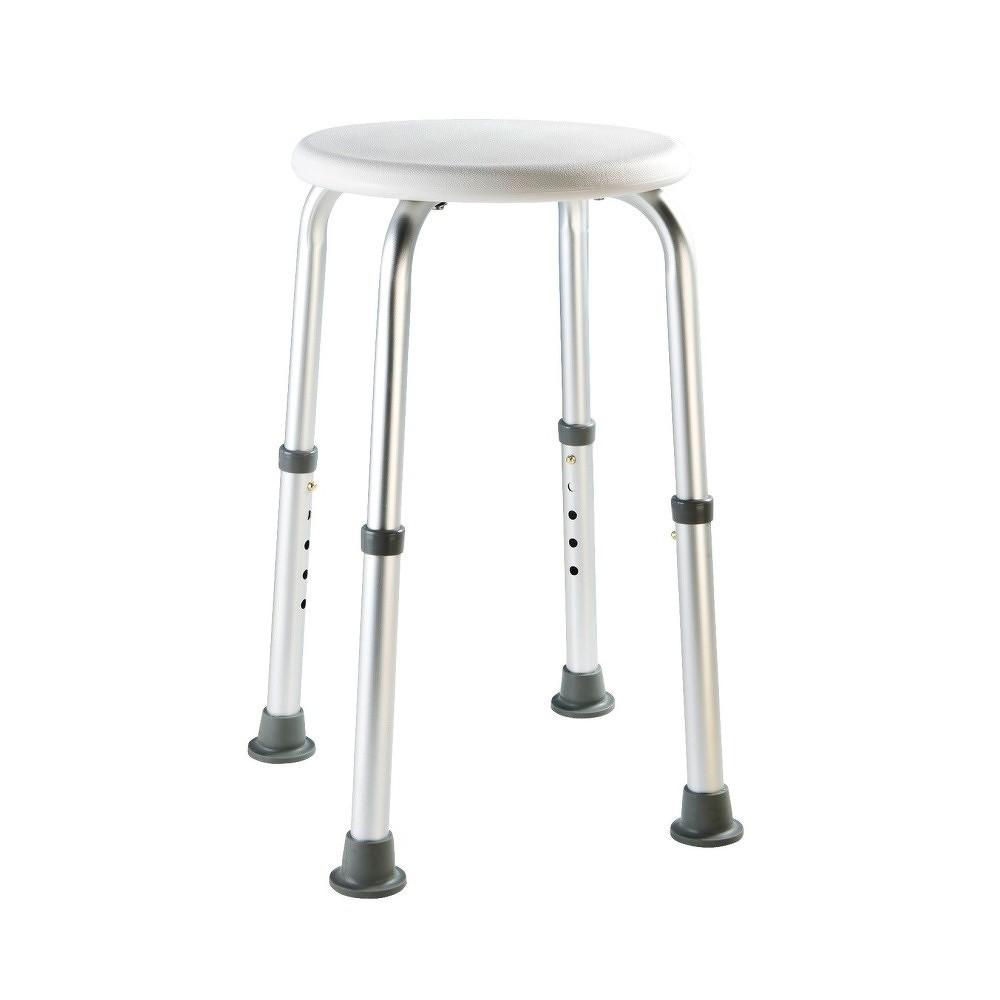 546aad68b53e2 Vysoká bezpečnostní stolička s opěradlem do sprchy pro seniory Wenko Secura