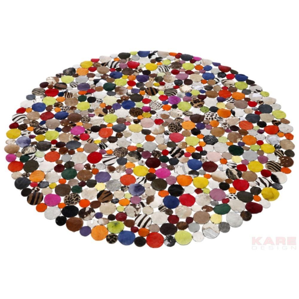 Vzorovaný koberec Kare Design Multi, Ø150cm