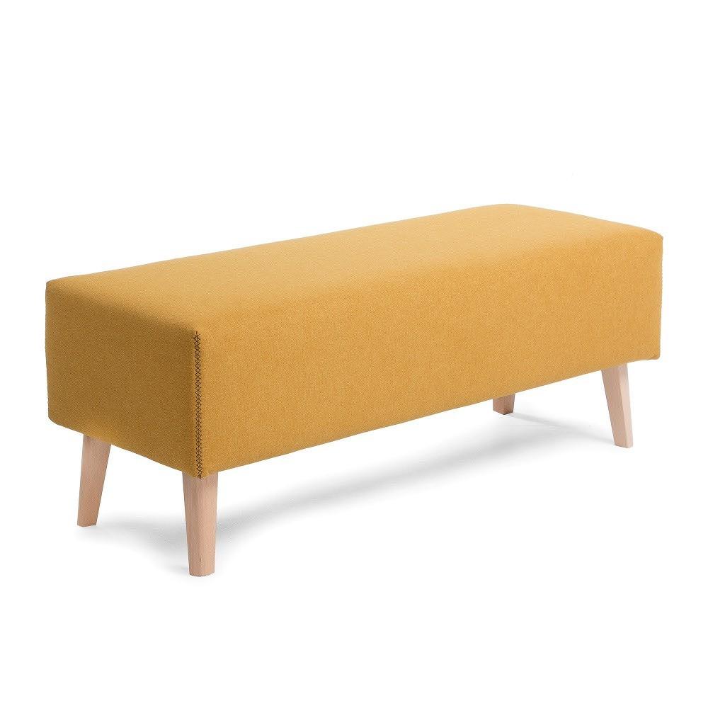Žlutá lavice La Forma Lydia