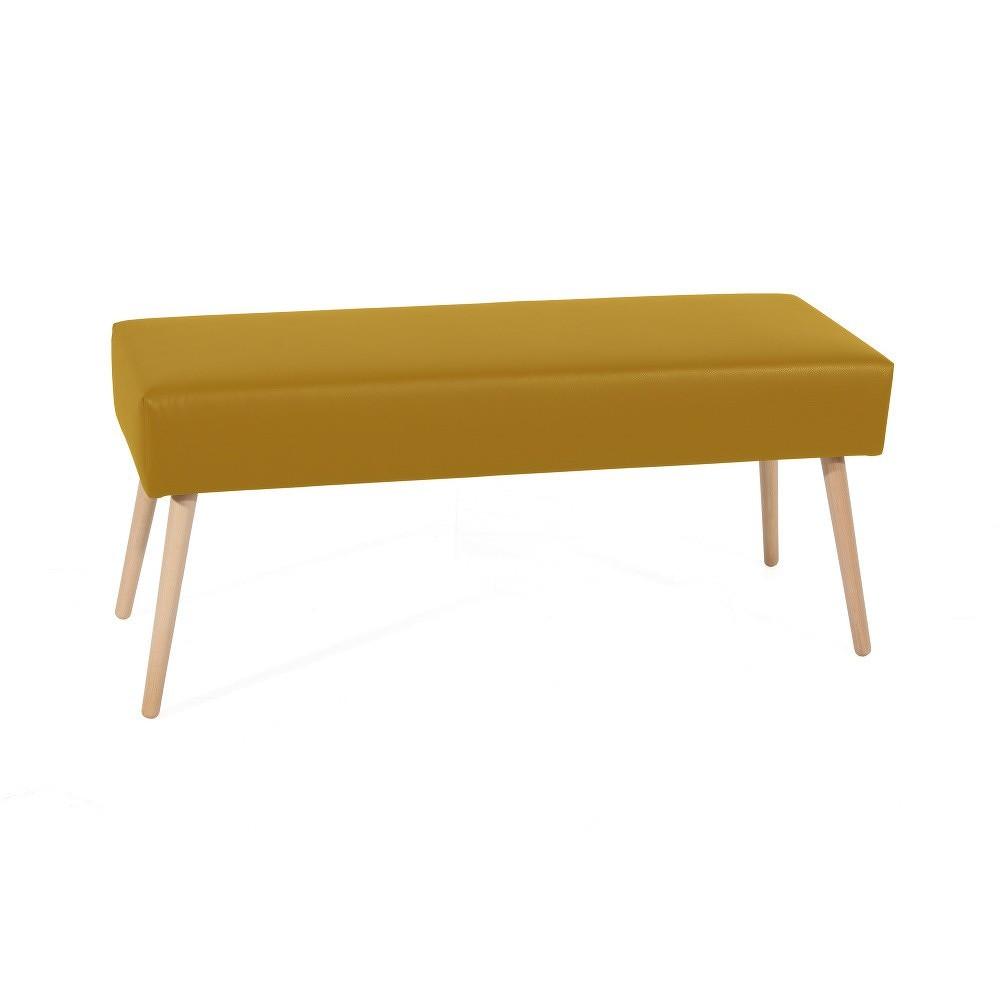 Žlutá lavice Max Winzer Sue