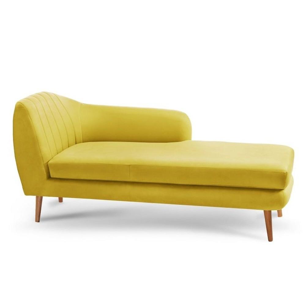 Žlutá lenoška Stella Cadente Maison se sedem na pravé straně