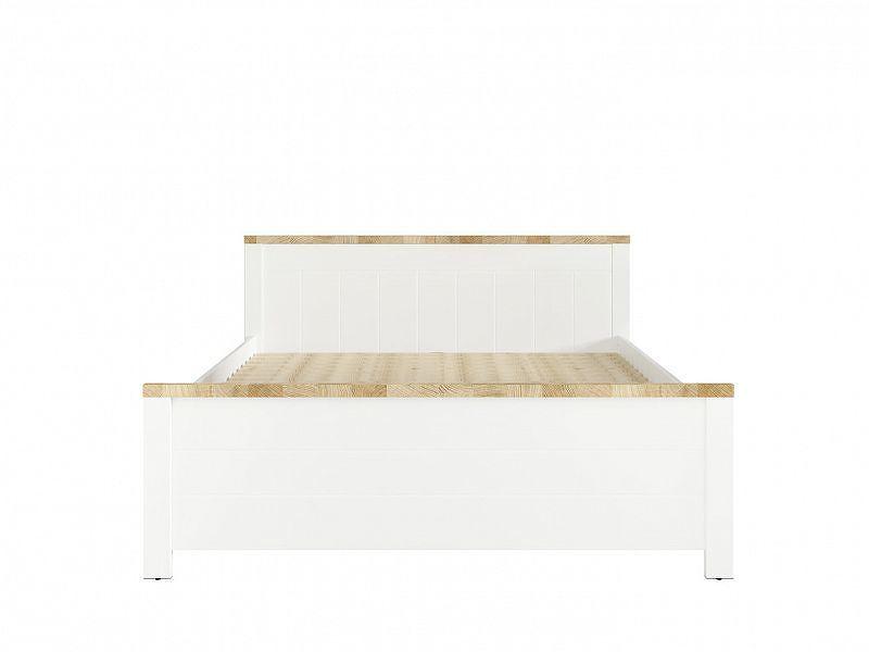 DREVISO BABY postel 160x200, bílá/dub westminster