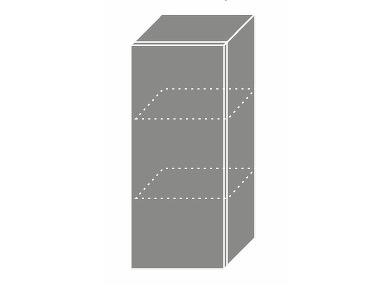Extom TITANIUM, horní skříňka W2 30, korpus: lava, barva: fino černé