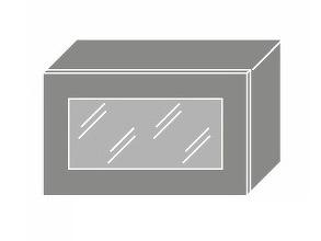 Extom TITANIUM, skříňka horní W4bs 60 WKF, korpus: jersey, barva: fino černé