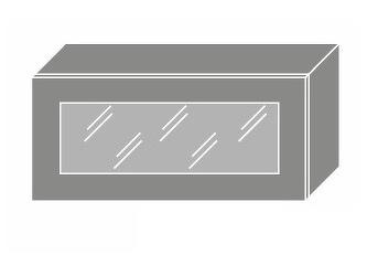 Extom TITANIUM, skříňka horní W4bs 80 WKF, korpus: jersey, barva: fino černé