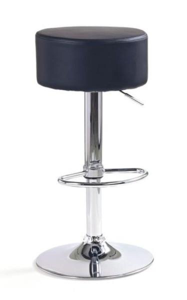 Halmar Barová židle H-23, černá