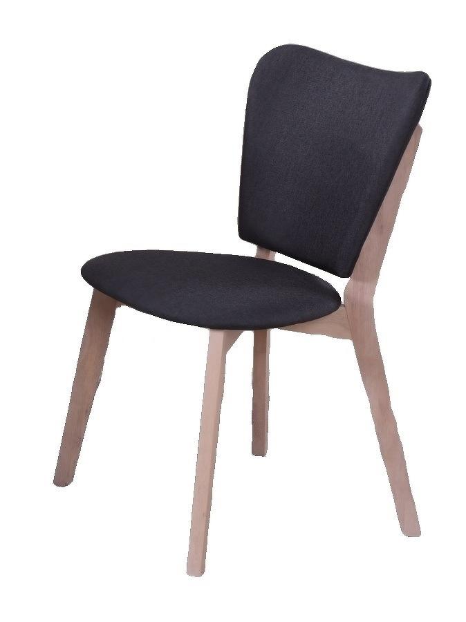 Jídelní židle EVEREST, bílá/šedá