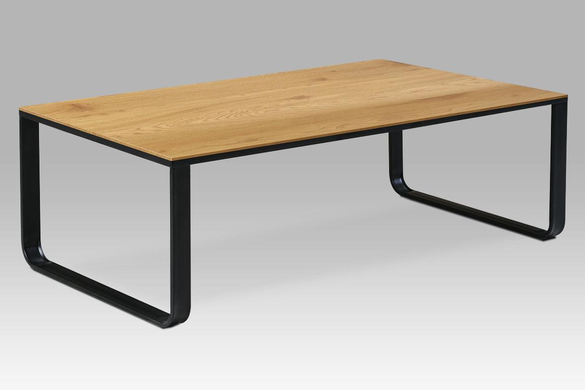 Konferenční stolek CT-1017 OAK, dub divoký/černá