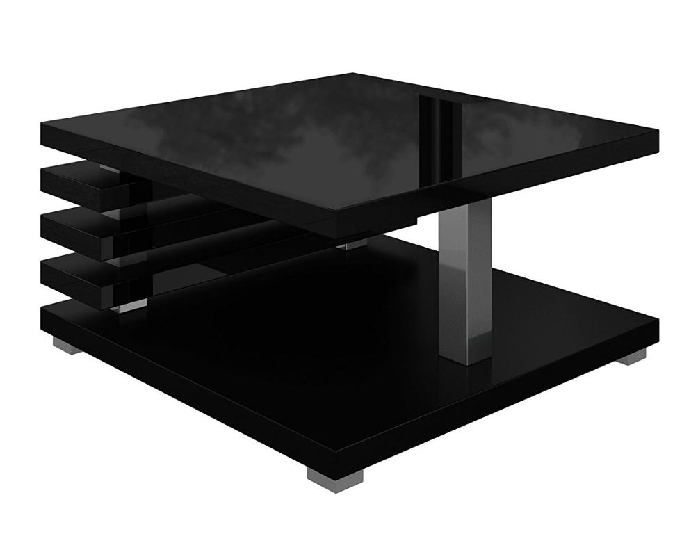 Konferenční stolek GLEN, černý lesk