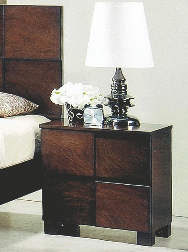 Noční stolek ANTICA, antický ořech