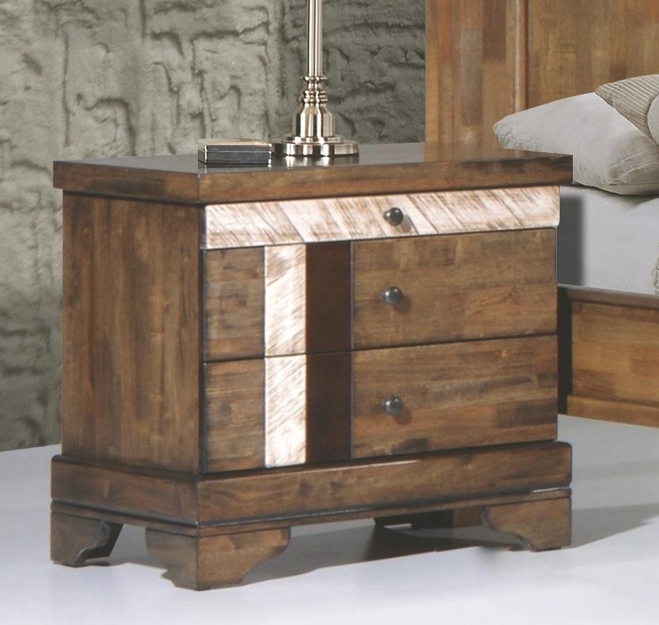 Noční stolek BARCELONA pravý, dub
