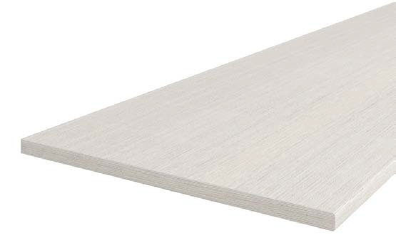 Pracovní deska borovice bílá 8547, tloušťka 28 mm, 30 cm P