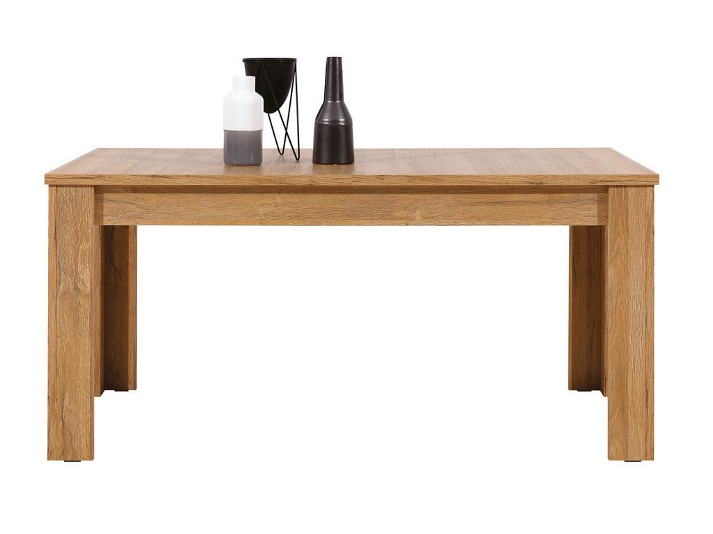 Rozkládací jídelní stůl SANDY, dub granson