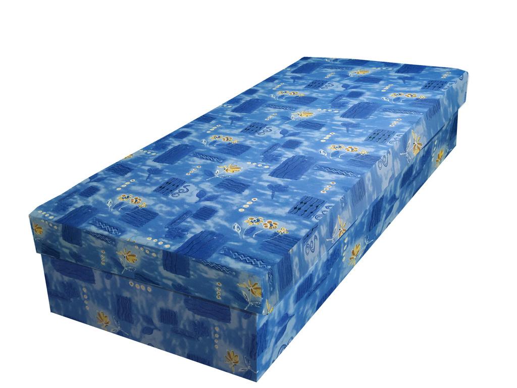 Smartshop Válenda IVAN 90x200 cm, modrá látka