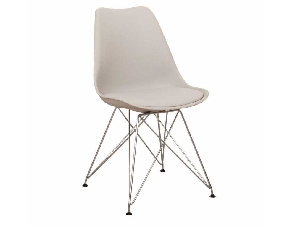 Tempo Kondela Jídelní židle METAL NEW, studená šedá