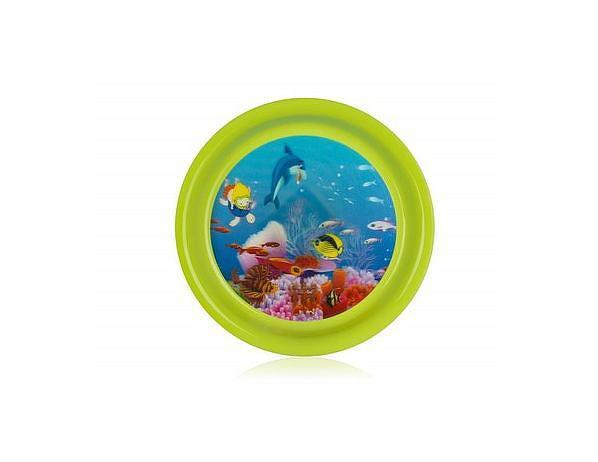 BANQUET Talíř plastový SEA 19,5 cm