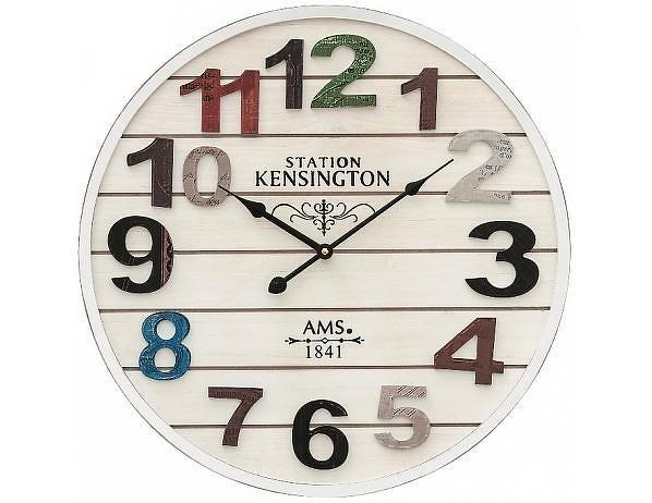 Nástěnné hodiny 9538 AMS 50cm