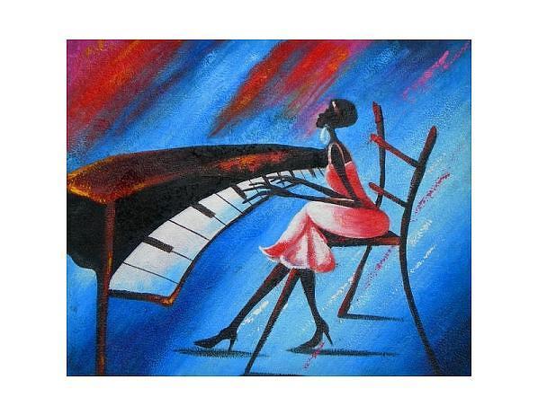 Obraz - Koncert na piano, 90x60cm