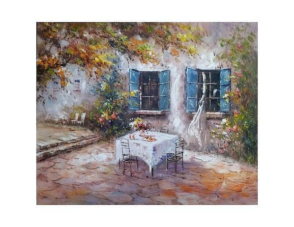 Obraz - Letní snídaně, 50x60 cm