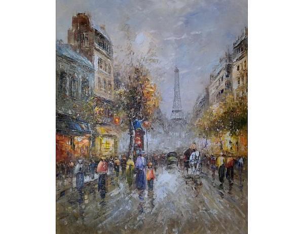 Obraz - Rozzářená Paříž, 50x60 cm
