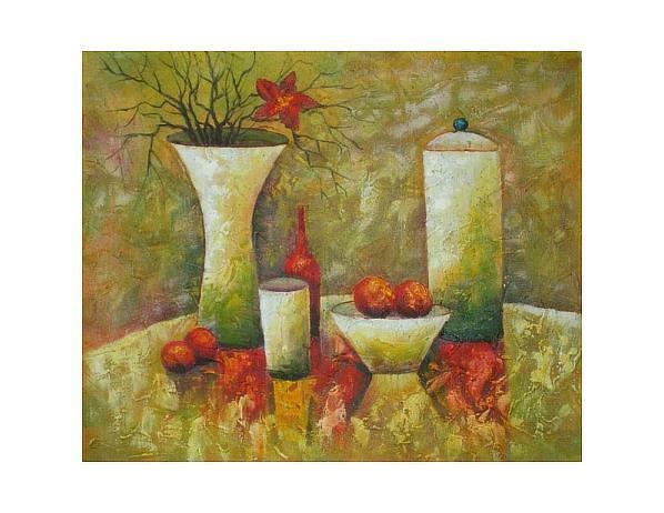 Obraz - Různotvaré nádoby, 50x60cm