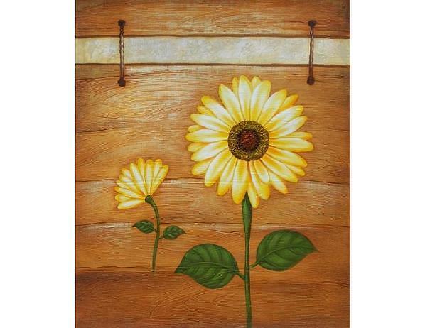 Obraz - Slunečnice 9, 60x50 cm