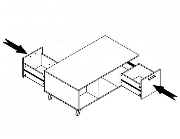 Obývací pokoj Parma 2