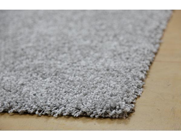 Šedý kusový koberec Vigo, 80x150 cm